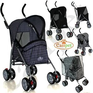 Pet Stroller Dog Cat Puppy Pram Pushchair Travel Cart Jogging Buggy Carrier