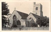 POSTCARD   ESSEX     LEIGH ON SEA   St  Clements  Church