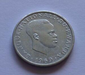 Ruanda / Rwanda 1 Franc 1969