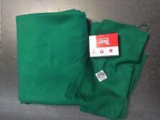 Pool Table Cloth 9 Foot Dark Green  Felt-Free Shipping-FREE Spot/Chalk