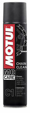 pulitore sgrassatore spray Catena Motul C1 Chain Clean moto go kart quad 400 ml