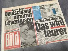 Bildzeitung BILD 20.05.1988 * Das besondere Geschenk zum 30. 31. 32. Geburtstag