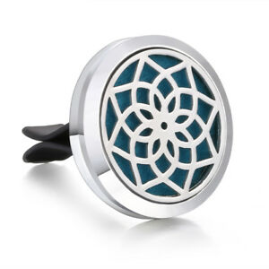 New Style Essential Oil Car Air Vent Freshener Diffuser Aromatherapy Locket