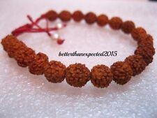 2 x Rudraksh Rudraksha bracelet braslet rosary 20 beads mala india~Energized