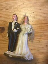 Décors De Patissier Pour Gateau De Noce, mariage, mari & femme Couple Ancien