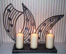 Deko-Kerzenständer & -Teelichthalter im Shabby-Stil aus Metall für Teelicht