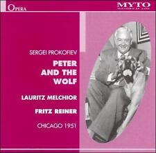 PROKOFIEV: PETER AND THE WOLF NEW CD