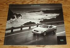 Original 2000 Mercedes-Benz SLK Class Sales Brochure 00 230 Roadster Sport