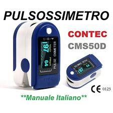 Saturimetro Ossimetro Pulsossimetro Oximeter da Dito portatile CONTEC Cms50dl