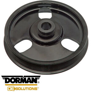 Power Steering Pump Pulley For Dodge Caravan Chrysler Plymouth Voyager 3.0L