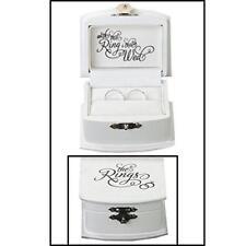 Lillian Rose Ring Bearer Box Jewelry Box Storage Organizer Case  Wedding Kit new