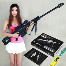Kids Toys Gun 3D Paper Model 1:1 Scale Barrett M82A1 12.7mm Sniper Rifle Weapon