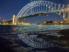 australian photo landscape art print SYDNEY A0 CANVAS PRINT CITYSCAPE CITY