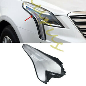 Right / Passenger side Headlight PC Cover with Glue for Cadillac XT5 2016-2018