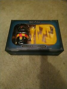 Brand New Harry Potter Egg Cup And Toast Cutter
