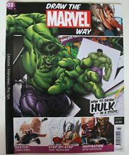 Draw the Marvel Way, Issue 3. Magazine only.