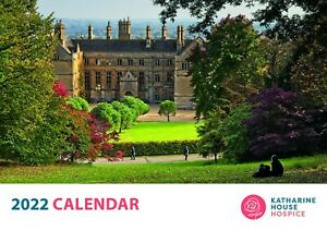 Katharine House Hospice 2022 Charity Calendar ~ A4 Month to View