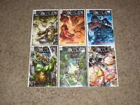 TEENAGE MUTANT NINJA TURTLES UNIVERSE (IDW) LOT OF 14 (OF 25) COMICS VF/NM