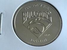 FOOTSCRAY BULLDOGS  HERALD SUN AFL CENTENARY COMMEMORATIVE MEDAL COIN 1996