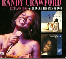 Randy Crawford ~ Rich and Poor + Through the Eyes of Love NEW SEALED DELUXE 2CD
