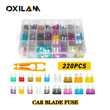 Small Blade Fuse Assortment Car Motorcycle SUV FUSES Kit APM ATM USA FREE SHIP