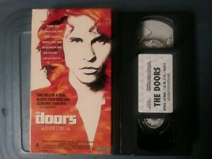1991 The Doors Movie VHS Tape Vintage RARE!