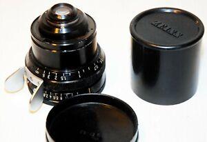 "Objectif ""SCHNEIDER ""-MOUNT "" ARRIFLEX"" - 35 mm - F 28 mm..1:.2  -TBE-N°8129874"