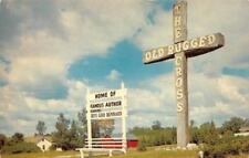 REED CITY, MI Michigan   THE OLD RUGGED CROSS~Rev/Author Bennard   1965 Postcard