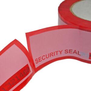 Proteggi le tue spedizioni con una extra protezione di 60 etichette tamper tape