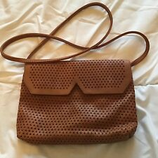 Ladies Pull And Bear Crossbody Bag Tan