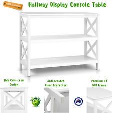 Hallway Display Console Table Sideboard Office Entry Decor Home Side White NEW