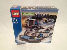 Lego City 7045 Police and Rescue Hovercraft Hideout NEUF 1 édition