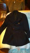 AUTHENTIQUE PEA COAT CABAN NAVY USN 1950 8 BOUTONS T 42 US MADE IN USA