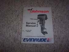 1989 Johnson Evinrude 9.9 10 14 15 20 25 28 30 35 HP Shop Service Repair Manual
