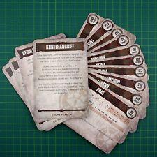 House Escher Karten 14 (Deutsch) Necromunda Underhive Box 10512