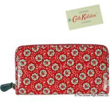 Portafogli e borsellini da donna rosse con organizer