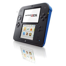 Nintendo 2DS - Blue & Black Handheld System Very Good Condition