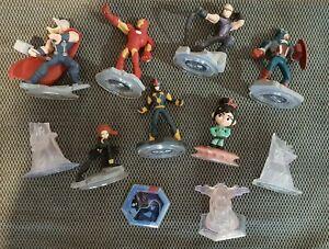 Disney Infinity Characters & Crystals bulk lot VGC