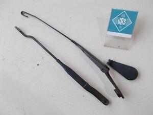 94 BMW E31 840Ci Windshield Wiper Arm Cover Front Left 61618360249 Set E31EX138