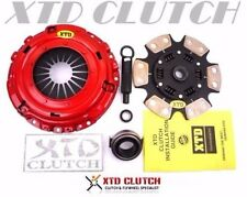XTD STAGE 3 CERAMIC CLUTCH KIT 88-91 CIVIC EF9 CRX EF8 Si-R JDM B16A S1 Y1 CABL