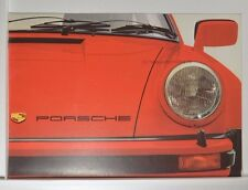 Porsche 911 Carrera Turbo 930 3,0 924 Prospekt ca. 1976