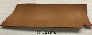 Vegetable Veg Tan Cowhide Tooling Leather Craft Panel, Heavy Weight 14 - 18 oz