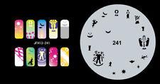 Fingernagel Schablone (airbrush nail art) JFH13-241
