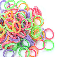 Dental Orthodontic Intraoral Elastic Rubber Bands Neon Color Light/Medium/Heavy