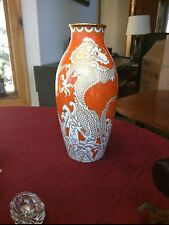 Rosenthal Dragon Motif Vase c. 1920's Germany