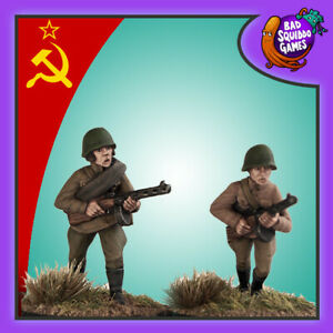 SOVIET INFANTRY WITH SMG - BAD SQUIDDO GAMES - FZ006