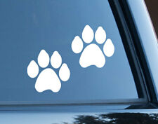 Paw Prints Dog Cat Pet Sticker Decal Car Window Boat Laptop Outdoor 7cm