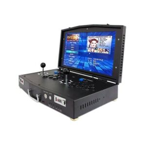 portable arcade  machine with 18.5 inch HD monitor   2 Player Plug and play