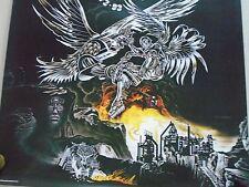 """Judas Priest / Orig.Vintage Promo poster / Metal Works / Exc. cond.- 23x23"""""""