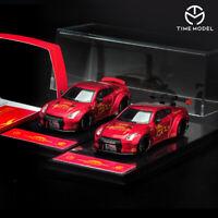 1:64 Scale Nissan GT-R R35 Monster LB Performance Liberty Walk Diecast Car Model